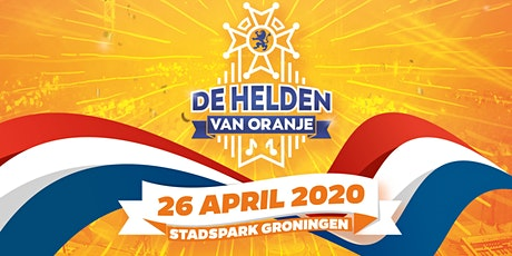 Helden van Oranje 2020 tickets