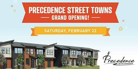 Precedence Street Towns Grand Opening! tickets