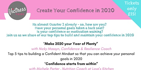 Create Your Confidence in 2020 - Chessington tickets