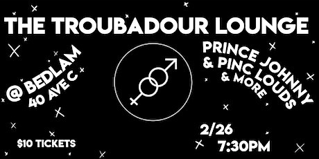 The Troubadour Lounge XII, an intimate showcase of queer singer-songwriters tickets