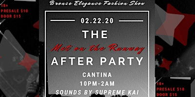 Bronze Elegance Fashion Show Official After Party