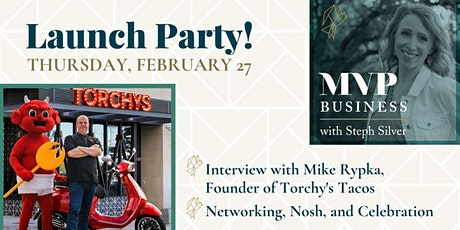 MVP Business Podcast Launch Party & Networking tickets