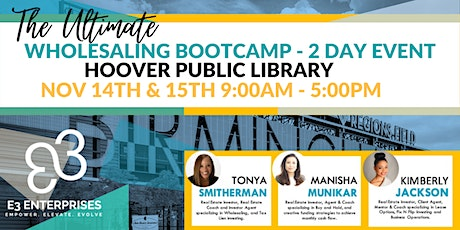 The Ultimate Wholesale Bootcamp - 2 Day Event tickets