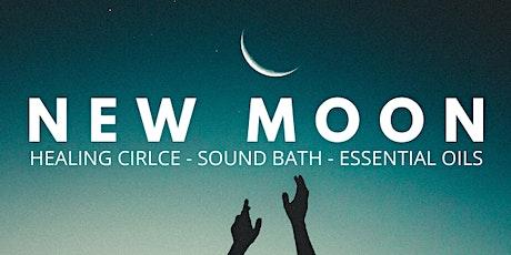 New Moon Healing Circle- Sound Healing Meditation & Essential Oils  tickets