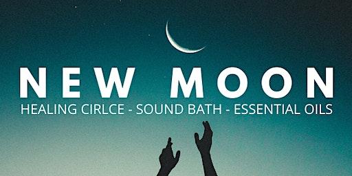 New Moon Healing Circle- Sound Healing Meditation & Essential Oils