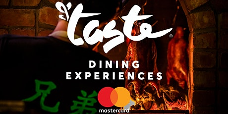 Taste Dining Experiences X Hang Dai Chinese tickets