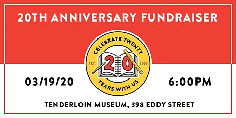 Parents for Public Schools of San Francisco - 20th Anniversary Fundraiser tickets