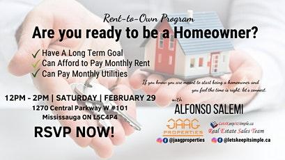 Rent-To-Own Program & First Time Home Buyer Seminar tickets