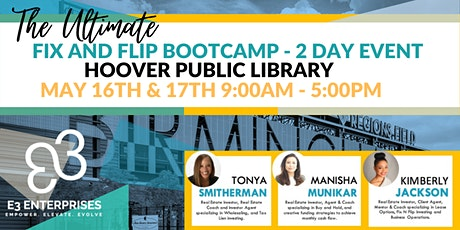 The Ultimate Fix & Flip Bootcamp - 2 Day Event tickets