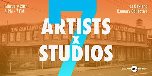 7 Artists x 7 Studios