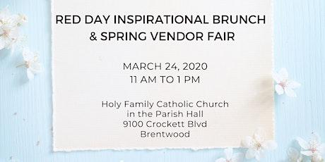Spring Vendor Fair tickets