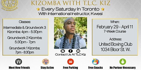 Kizomba Dance Lessons In Toronto with Kwesi tickets
