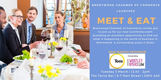 Meet & Eat sponsored by Tees Law