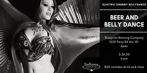 Bellydance class at Brüeprint Brewing Company