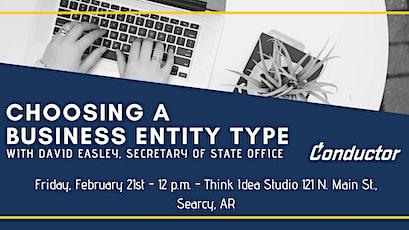 Choosing a business entity type workshop entradas