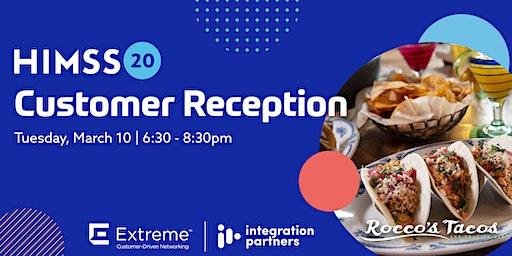 HIMSS 20: Customer Reception | Orlando, FL