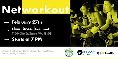 Networkout February   Flow Fitness - Fremont