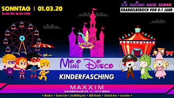 MINI DISCO | Kinderfasching 01.03.2020