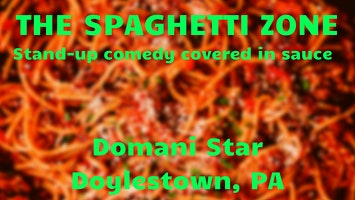 The Spaghetti Zone: Stand-Up Comedy at Domani Star