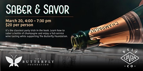 Saber and Savor Spring - Wine Tasting Happy Hour tickets