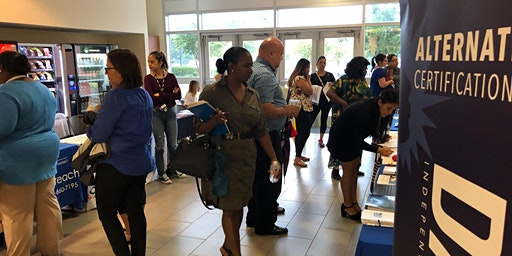 "Dallas ISD Human Capital Management - ""Grow Your Own"" College Fair at Linus D. Wright Administration Building"