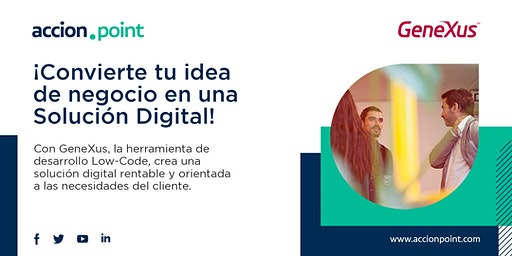 Convierte tu idea de negocio en una Solución Digital