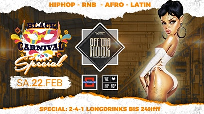 """OFF THA HOOK """"Black Carnival Special"""" Tickets"""