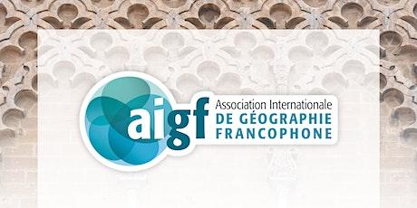 Premier congrès de l'AIGF billets