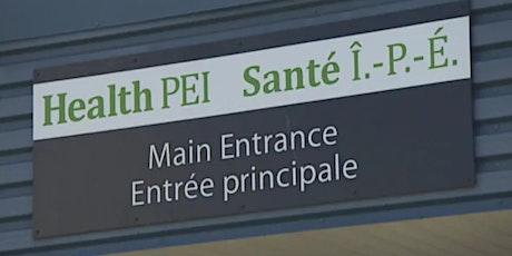 Recrutement professions de la santé à l'Île-du-Prince-Édouard tickets
