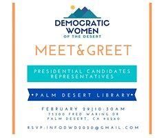 Meet & Greet Presidential Candidates Representatives