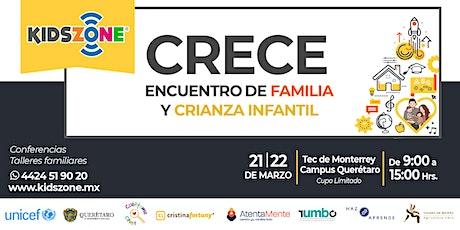 CRECE - Encuentro de Familia y Crianza Infantil boletos