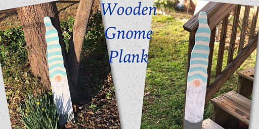 Wooden Gnome Plank