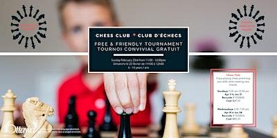 Chess Club Tournament - Tounoi Club d'Échec