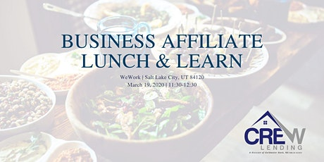 Business Affiliate Lunch & Learn Event tickets