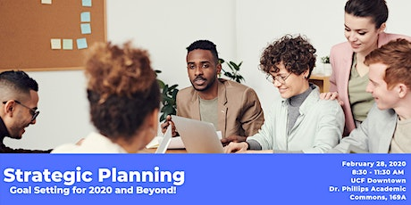 Strategic Planning: Goal Setting for 2020 and Beyond tickets