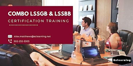 Combo Lean Six Sigma Green & Black Belt Training in Billings, MT tickets