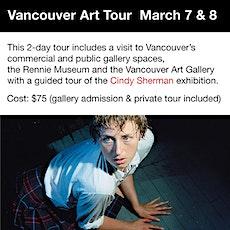 Vancouver Art Tour tickets