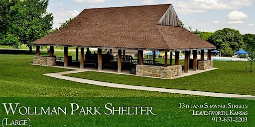 Park Shelter at Wollman Main - Dates in July through September