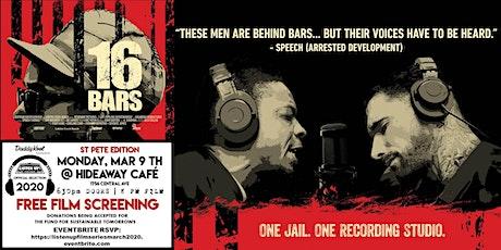 Listen Up Film Series  presents 16 BARS : One Jail, One Recording Studio tickets