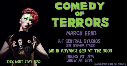 Comedy of Terrors tickets