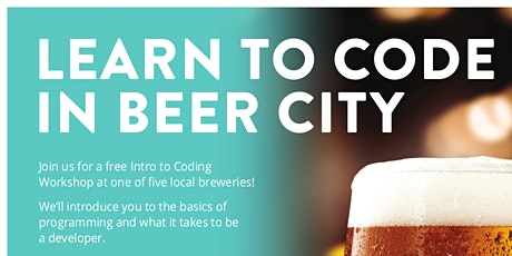 Free Intro to Coding Workshop at The Mitten Brewing Co.  tickets