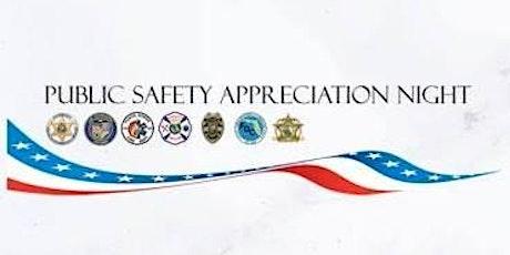 POSTPONED 5th Annual Public Safety Appreciation Night (PSAN) tickets