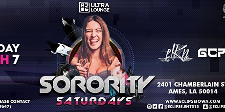 Sorority Saturdays with ELKN and GCP at AJs Ultra Lounge tickets