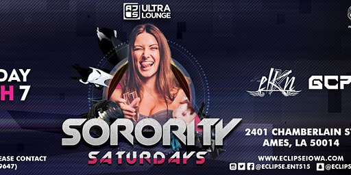 Sorority Saturdays with ELKN and GCP at AJs Ultra Lounge