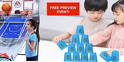 FREE for kids!  Gaming Community Preview Day