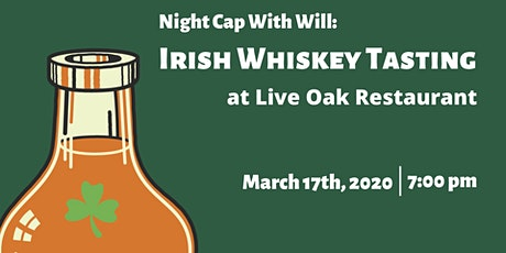 Irish Whiskey Tasting tickets