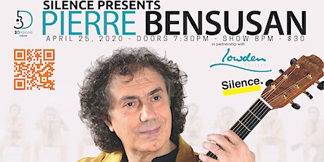 Silence Presents: Pierre Bensusan tickets