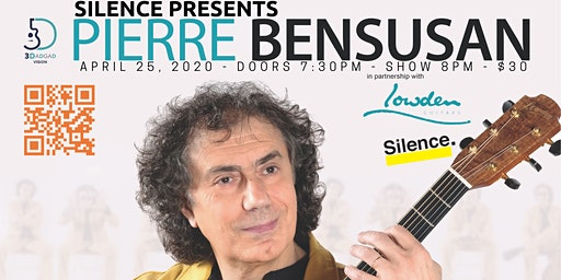 Silence Presents: Pierre Bensusan