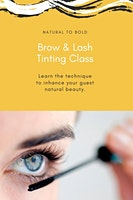 Brow and Lash Tinting for Licensed Professionals