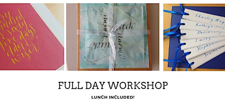 Modern Calligraphy Workshop tickets